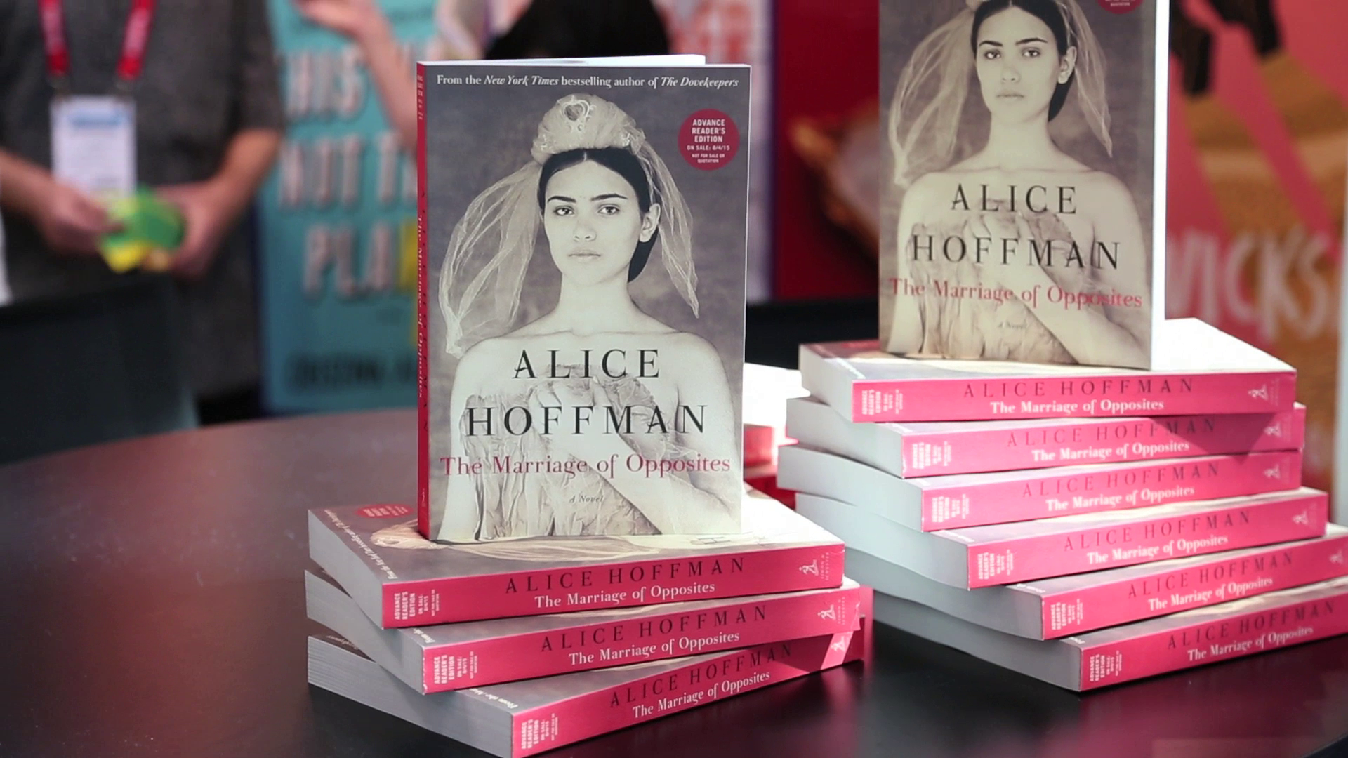 Author Alice Hoffman talks about her newest novel 'The Marriage of Opposites'
