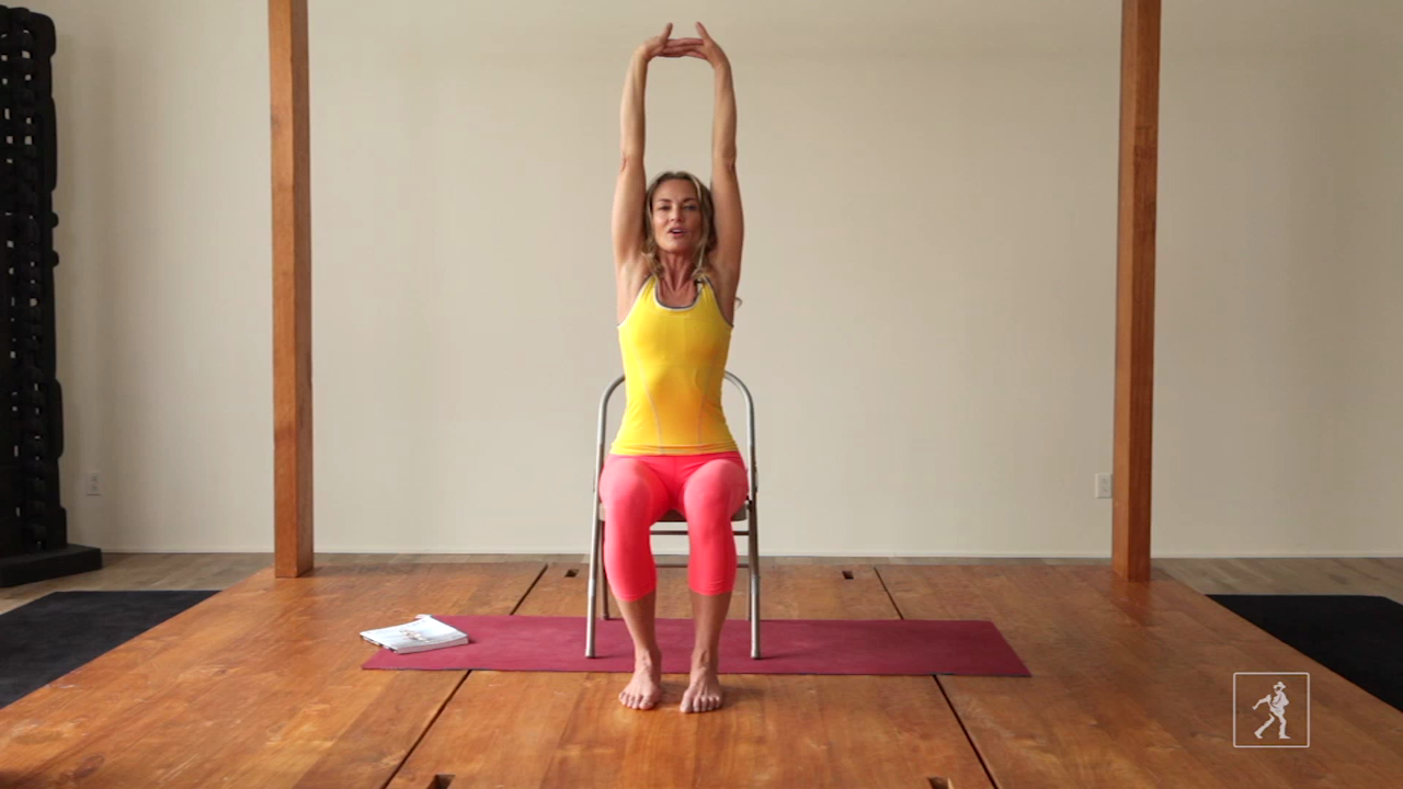 3 Minute Chair Yoga Sequence