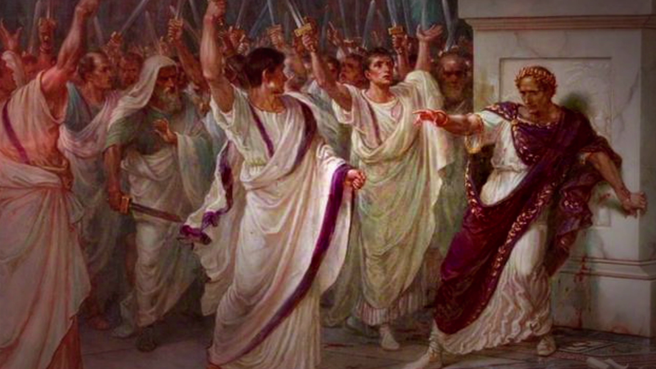 the death of julius caesar a Gaius julius caesar was born on july 13, 100 bc to a patrician family who claimed descendance from the kings of alba longa (the original home of.