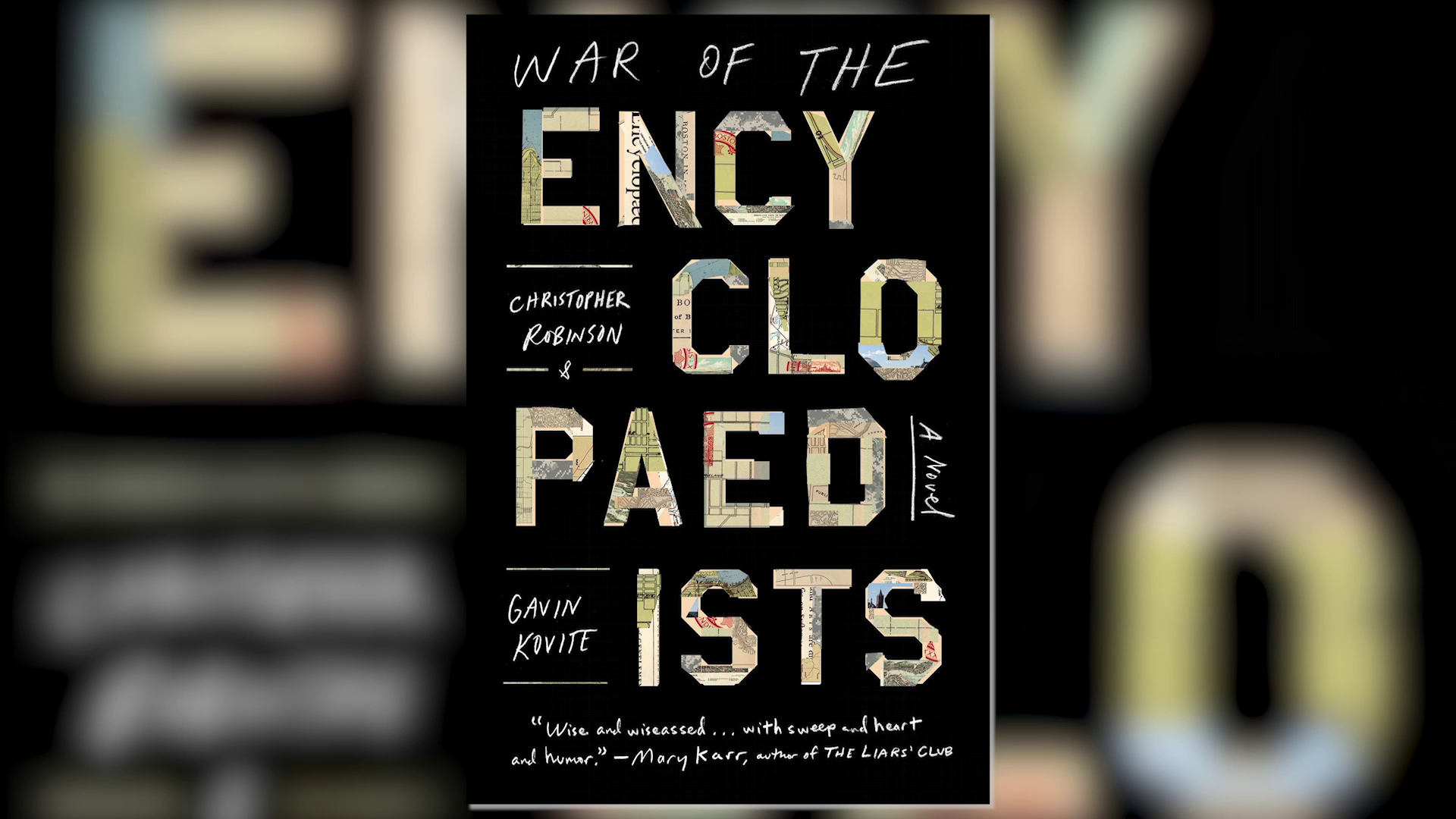 Behind the Book: 'War of the Encyclopaedists'