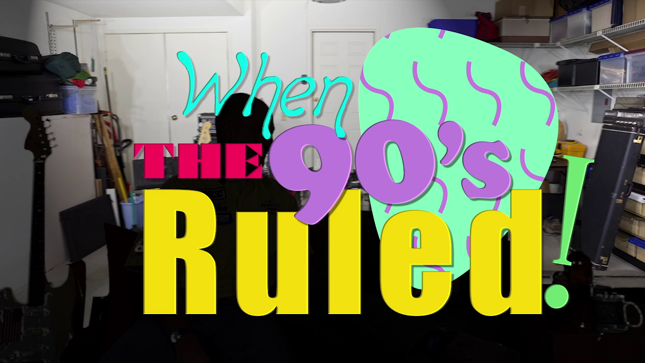 """When The 90s Ruled"" featuring ""Teddy Tremble"""