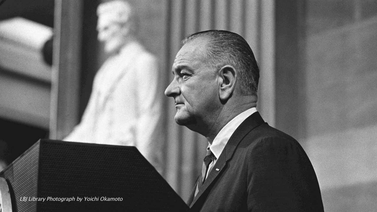 We are living in Lyndon Johnson's America