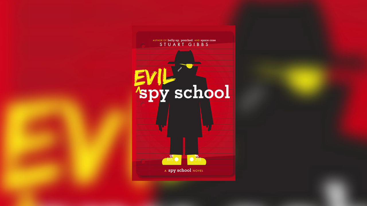 Stuart Gibbs on 'Evil Spy School'