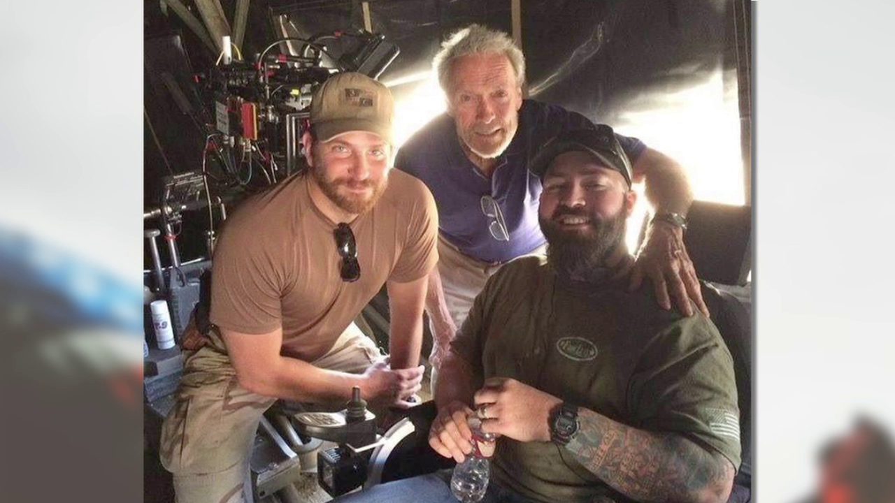 Working with Clint Eastwood and Bradley Cooper on American Sniper