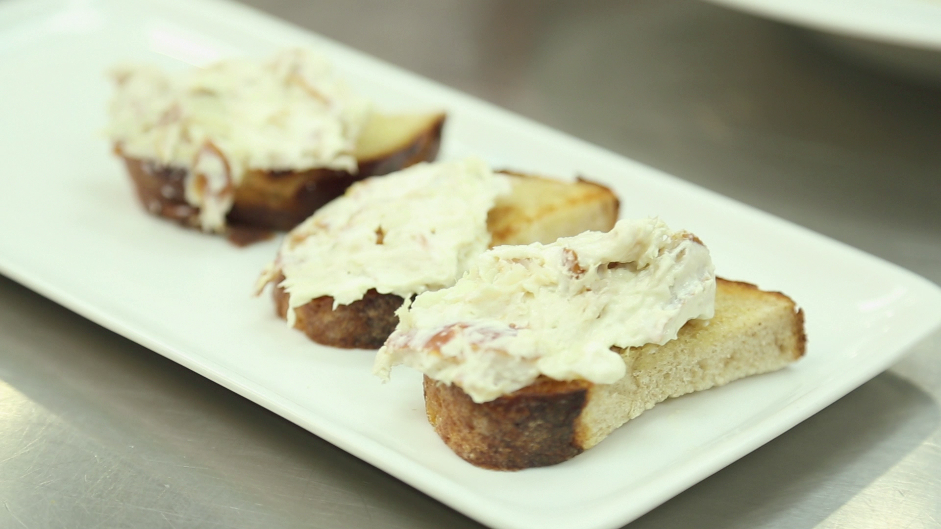 Party Recipe: Smoked Mackerel Toasts