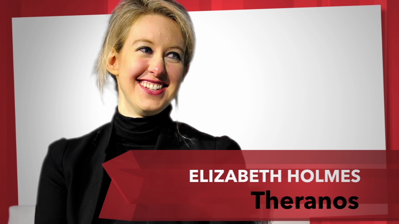 How did billionaire Elizabeth Holmes find her way when founding Theronos?