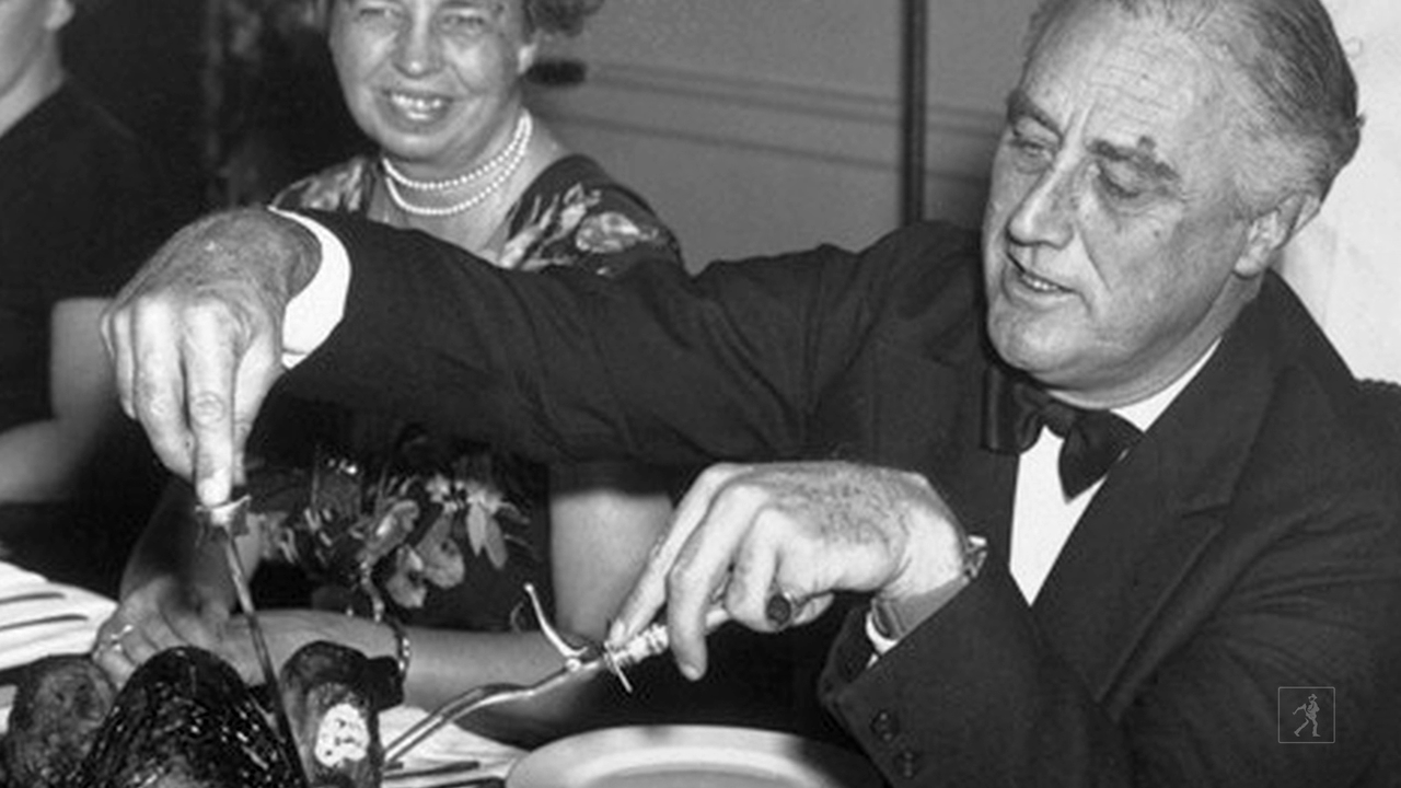 How the Roosevelts Celebrated Thanksgiving