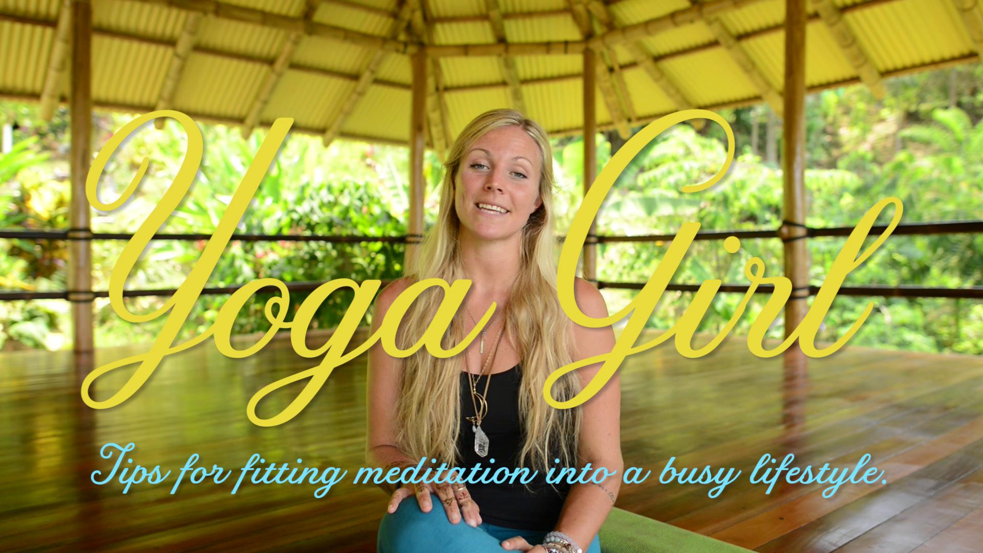 'Yoga Girl' Rachel Brathen's best Meditation Tips