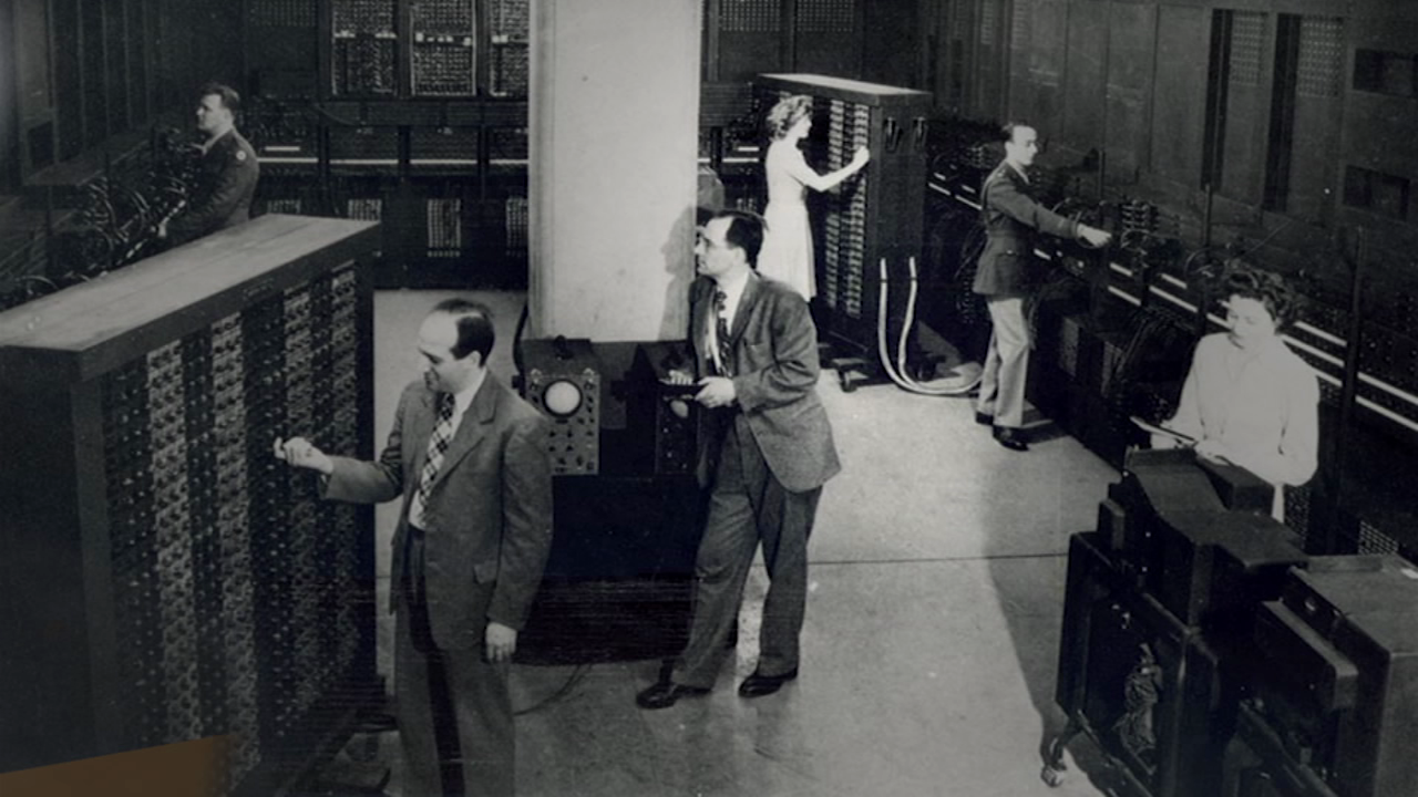 History in Five: The Creation of the Computer