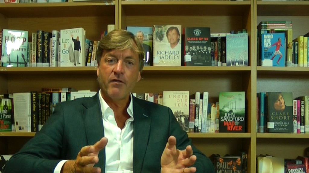 Richard Madeley on the Thriller at the heart of The Way You Look Tonight