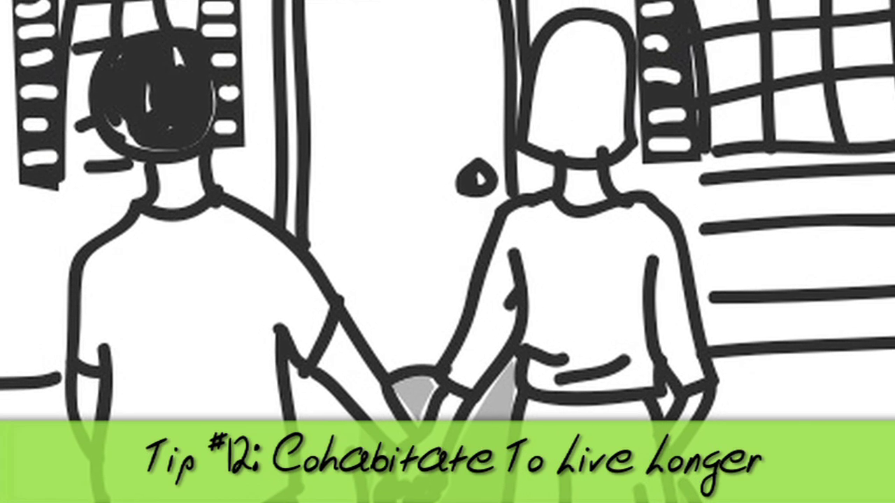 Cohabitate and Live Longer