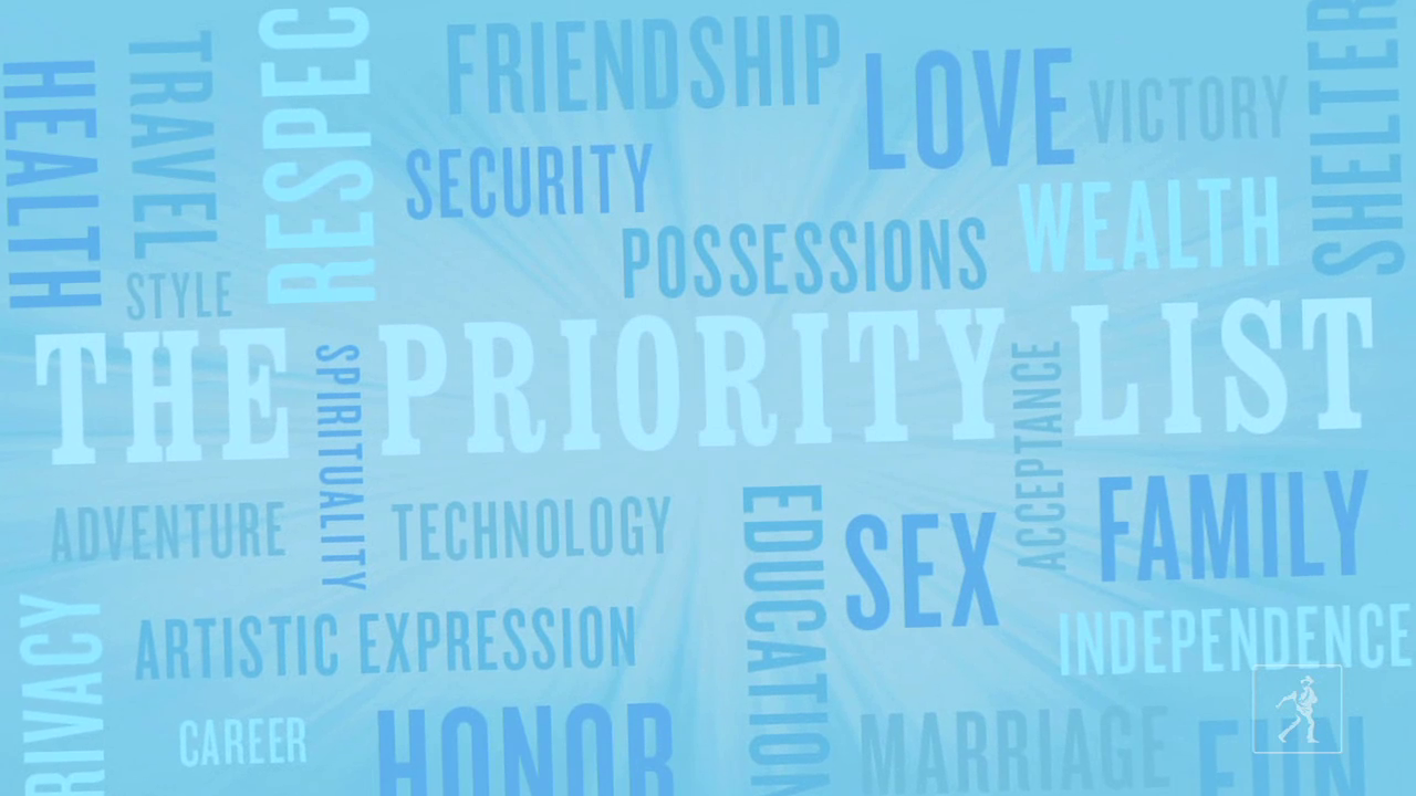 David Menasche's THE PRIORITY LIST