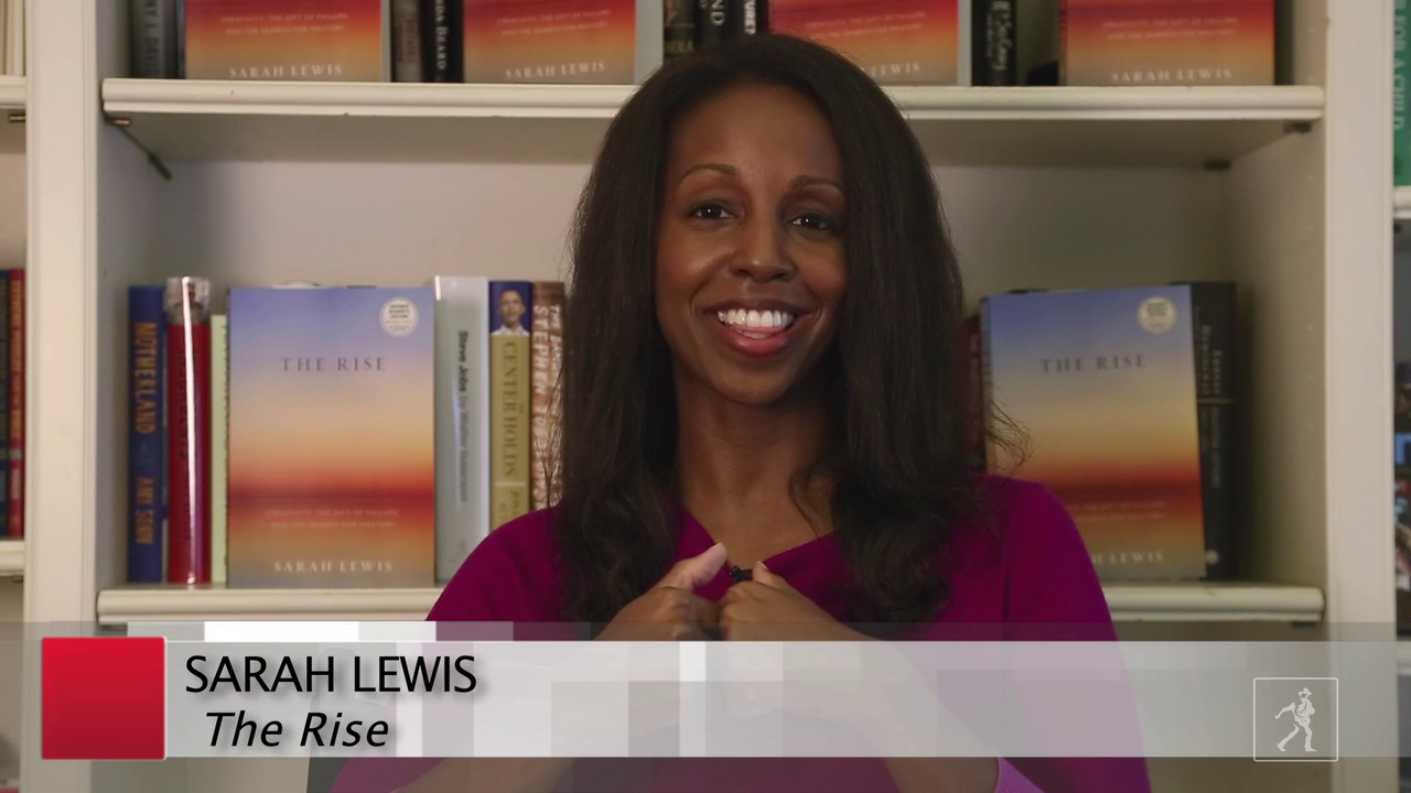 Sarah Lewis and The Rise: J.K. Rowling, Twyla Tharp, and More