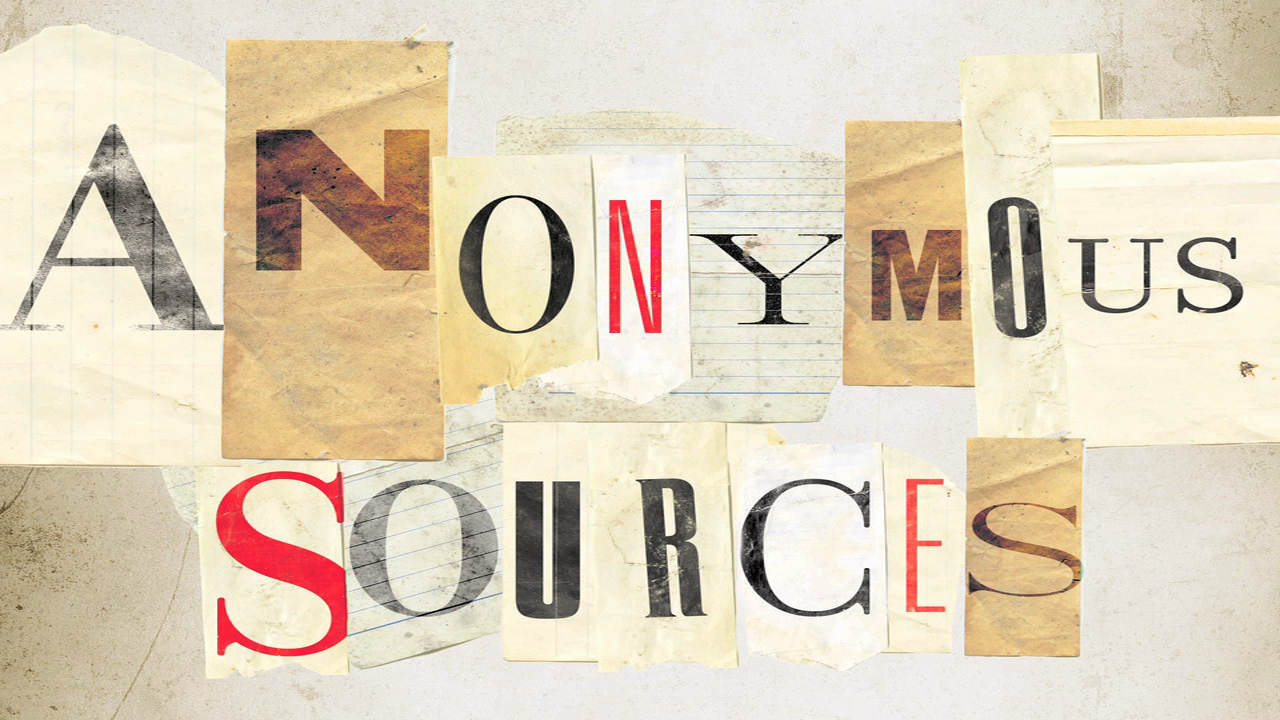 Discover the Mystery Behind Anonymous Sources