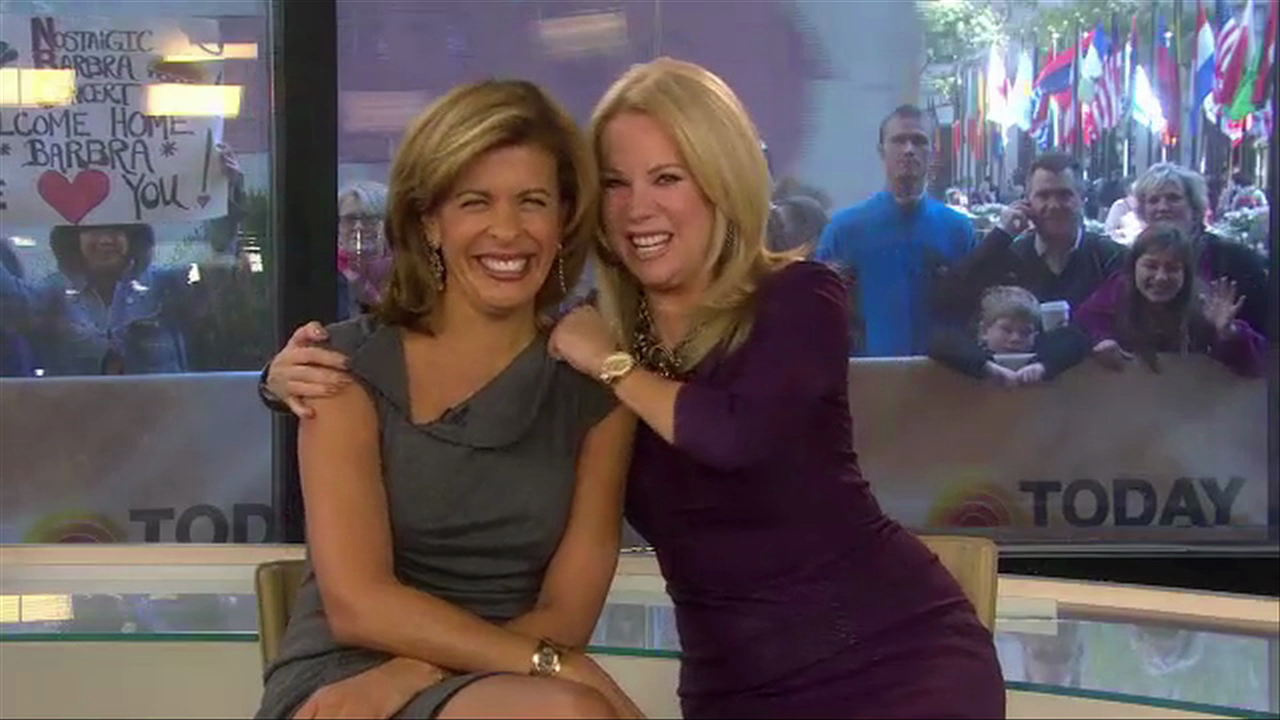 Hoda Kotb on her new book TEN YEARS LATER