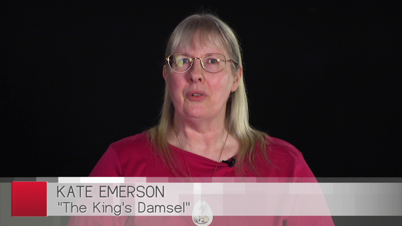 Kate Emerson on The King's Damsel