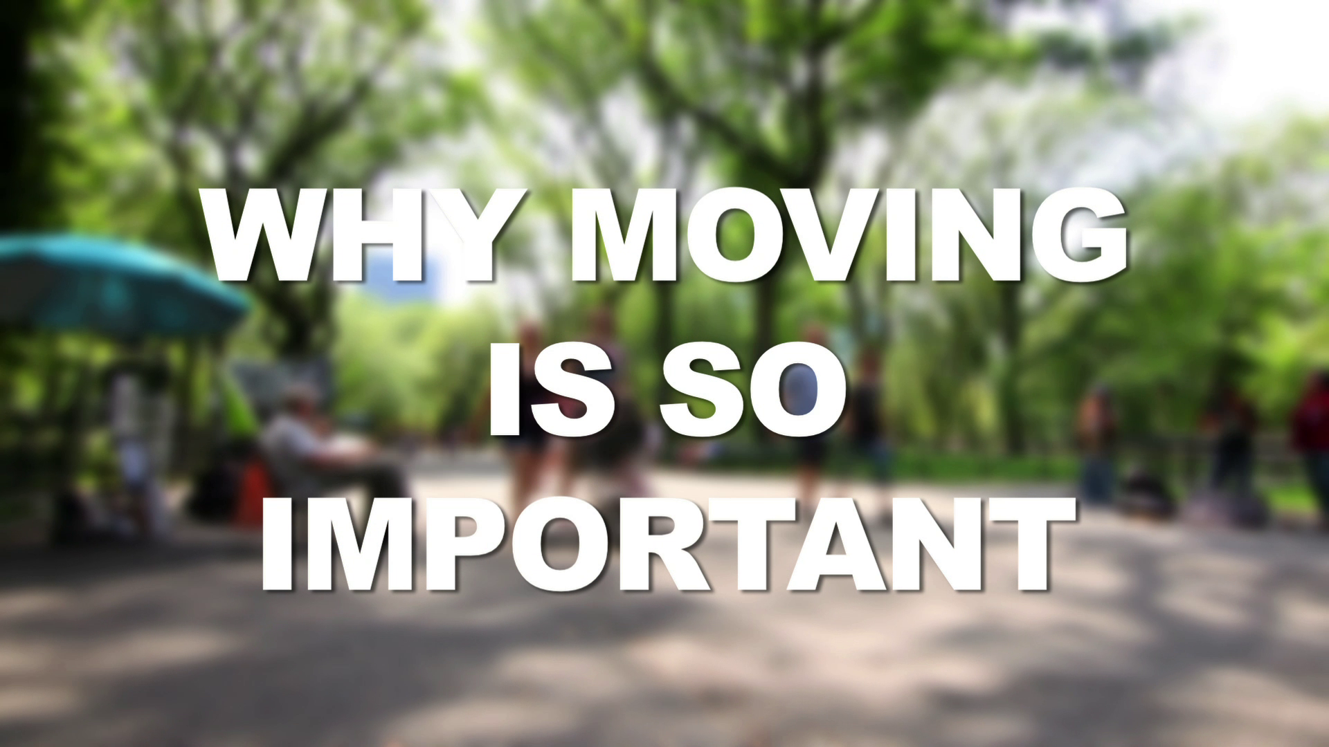 Dr. Mike Moreno on Why Moving is So Important