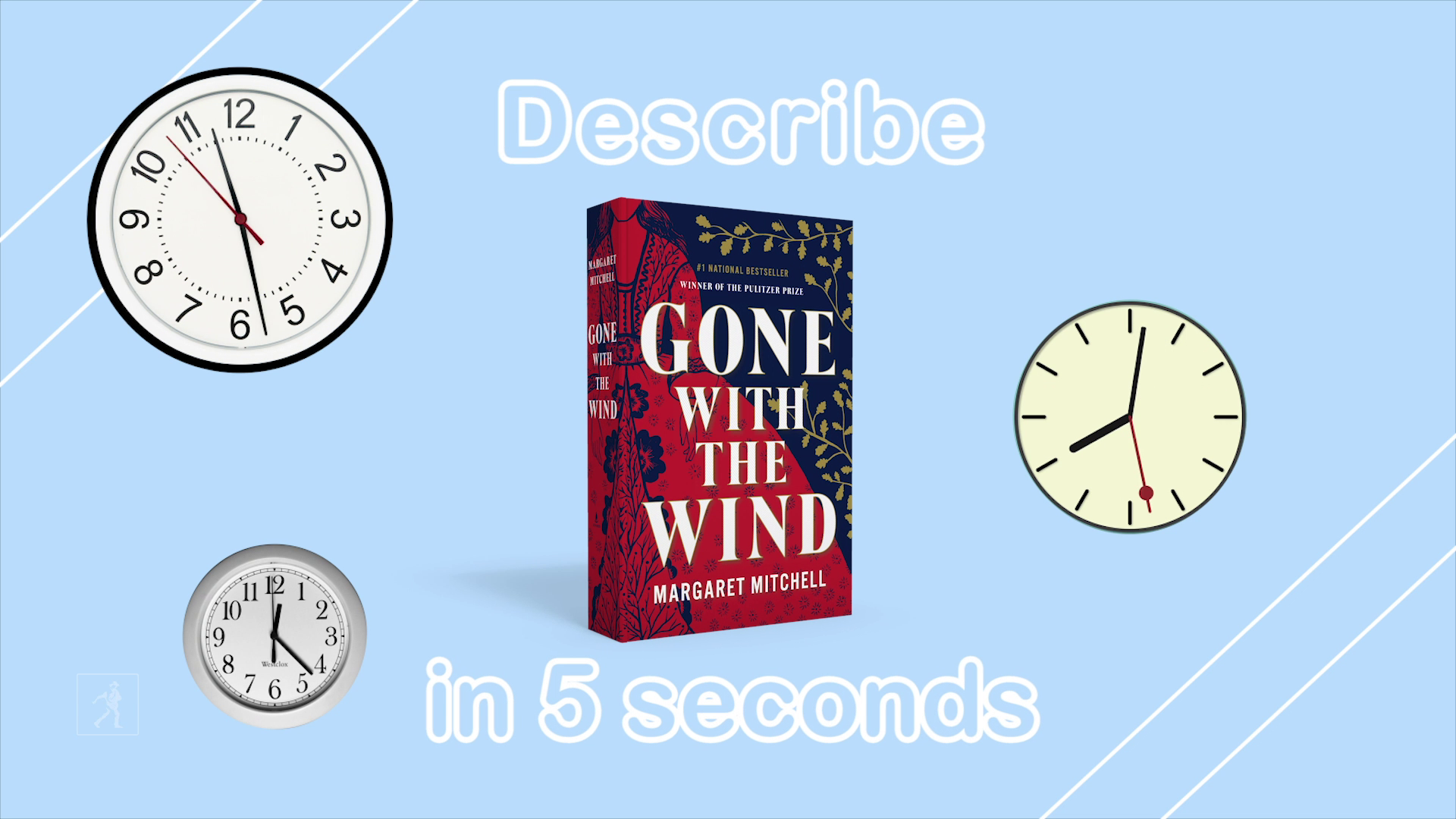 5 Second Summaries with Off the Shelf: GONE WITH THE WIND