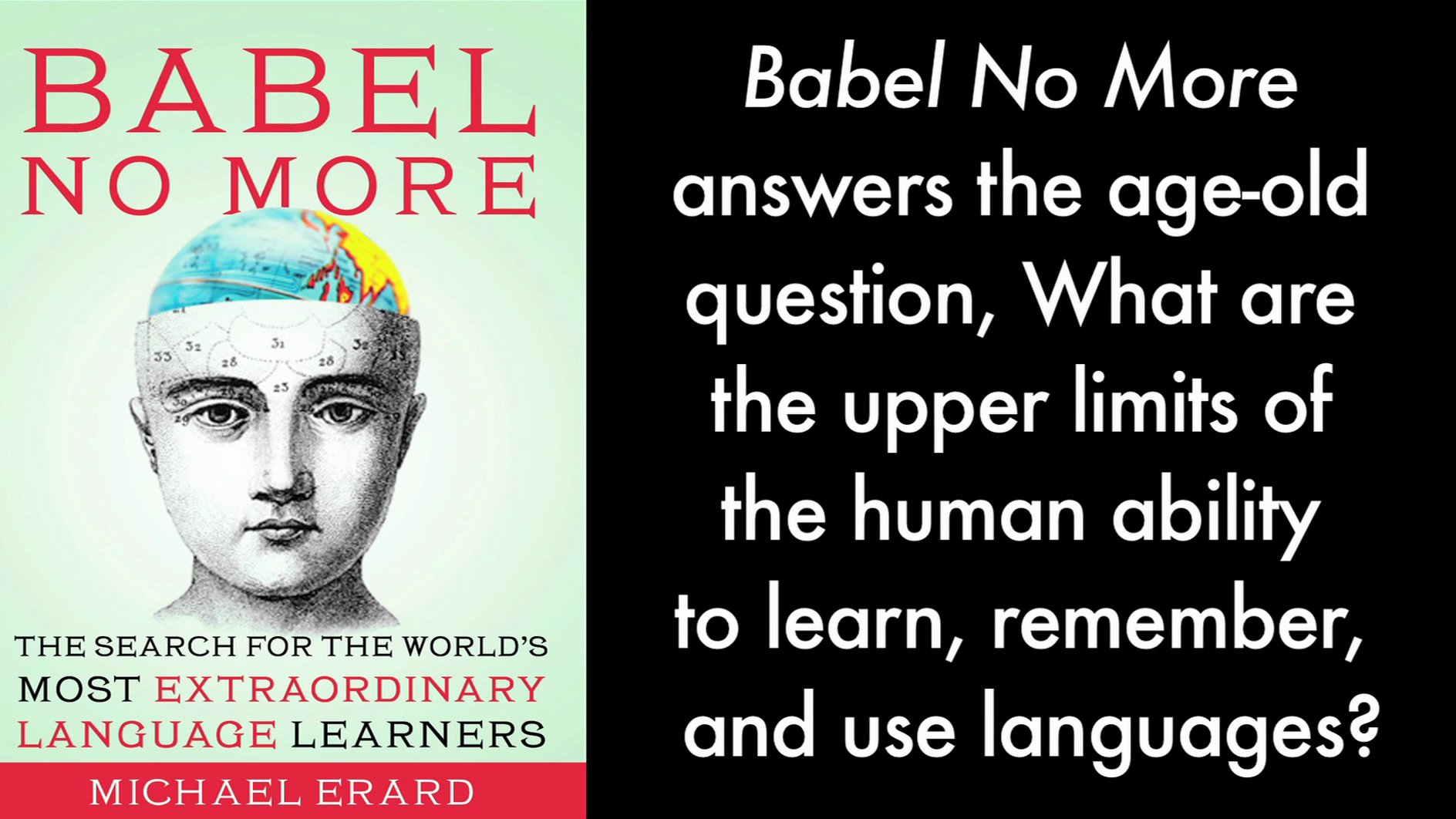 Introducing BABEL NO MORE