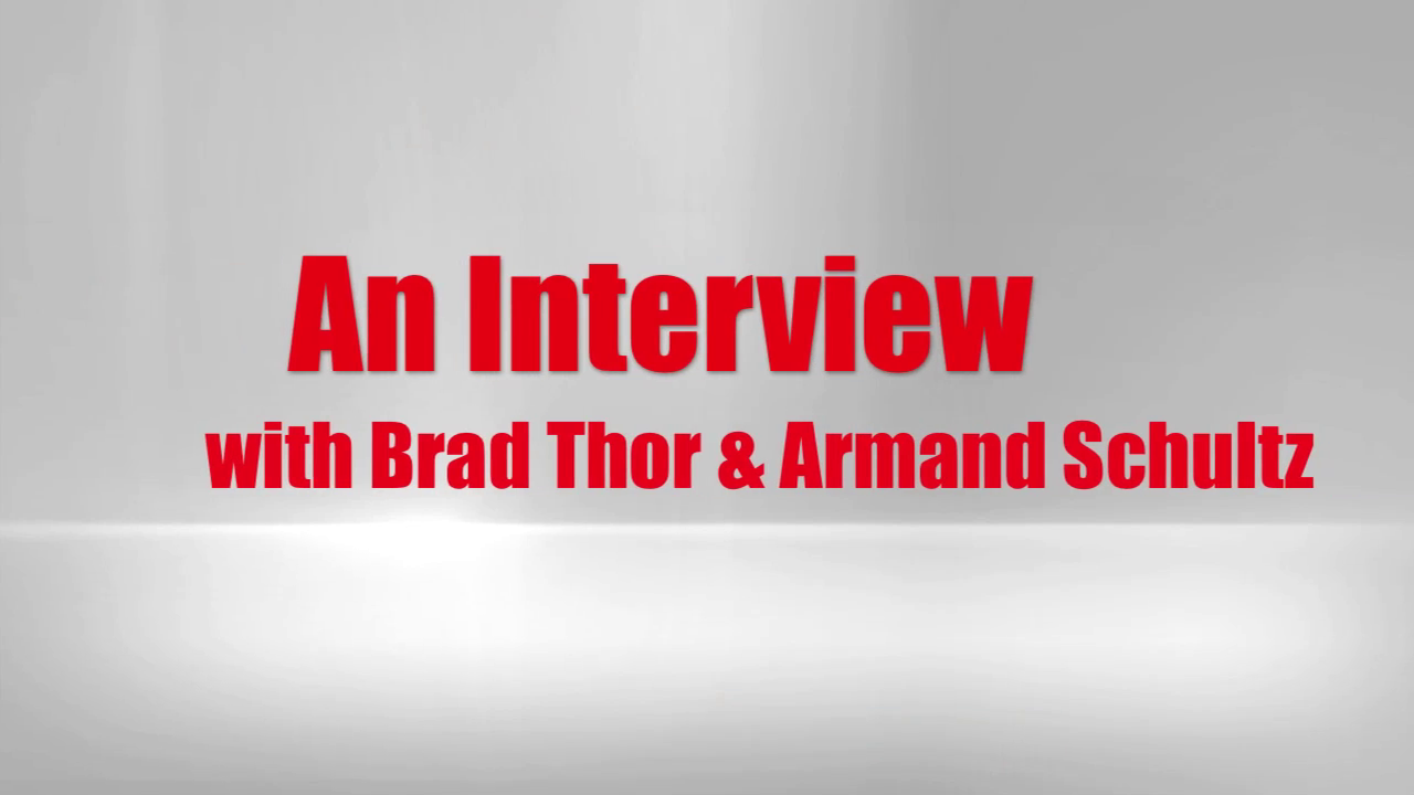 Brad Thor & Army Schultz – Interview Part 3