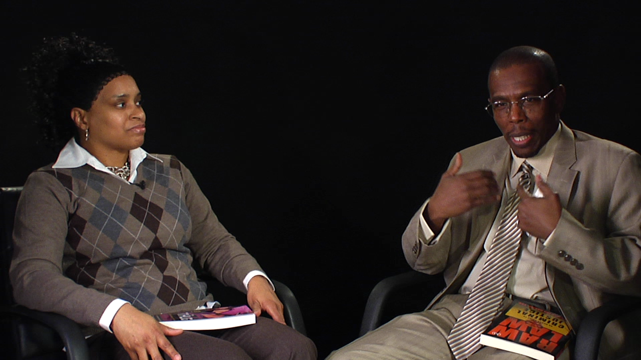 Wahida Clark and Muhammad Bashir Examine Crime and Society