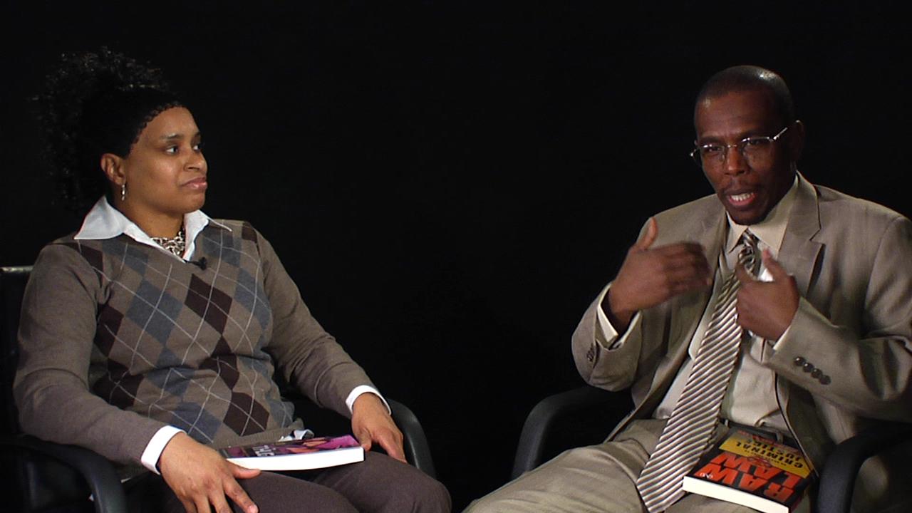 Wahida Clark and Muhammad Bashir Examine Crime and Society