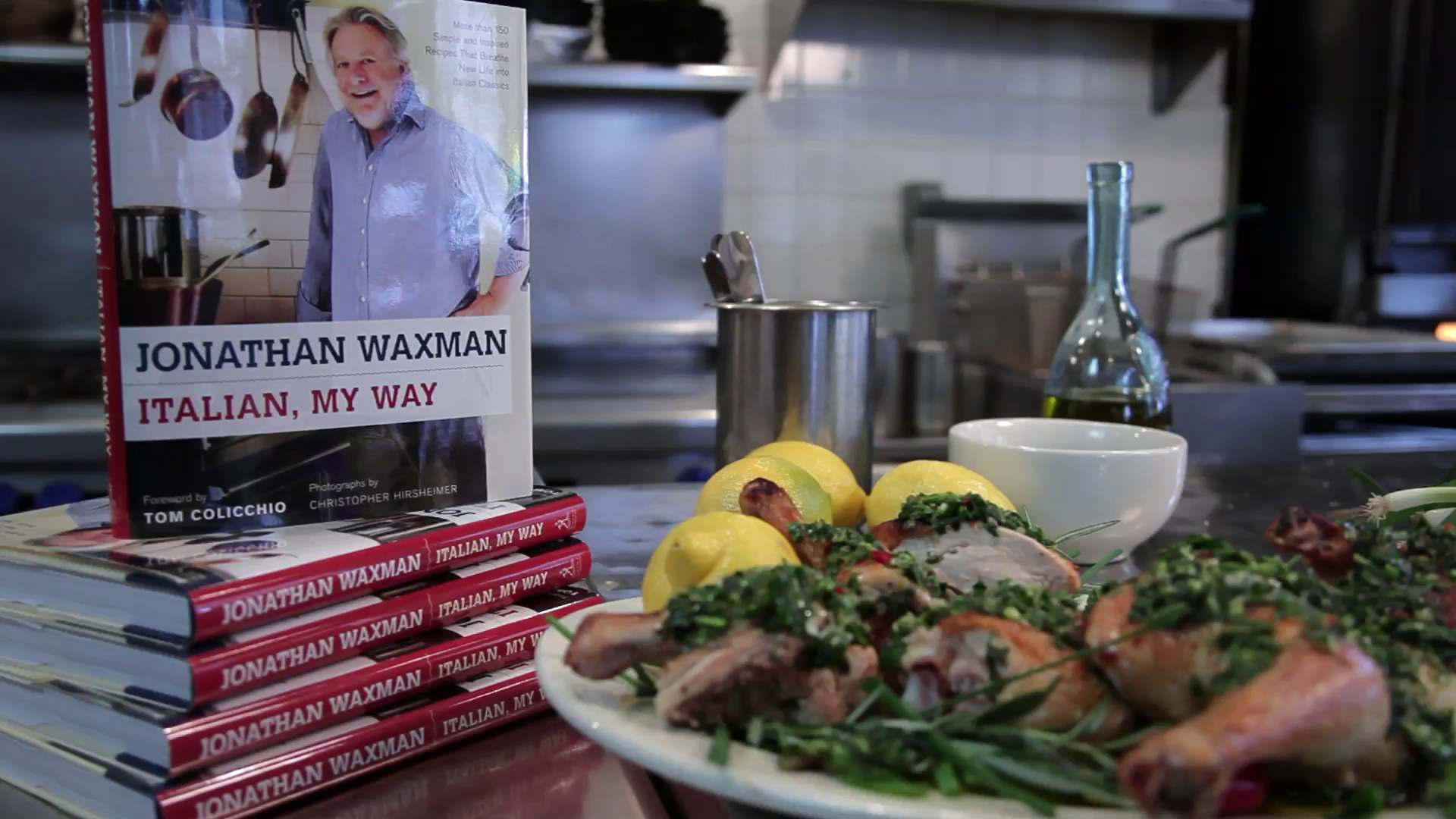 Chef Jonathan Waxman reveals how to roast perfect chicken