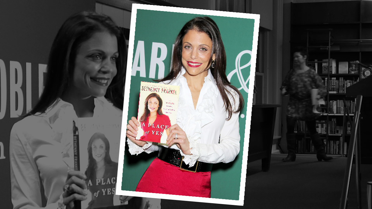 Bethenny hits the red carpet for A PLACE OF YES