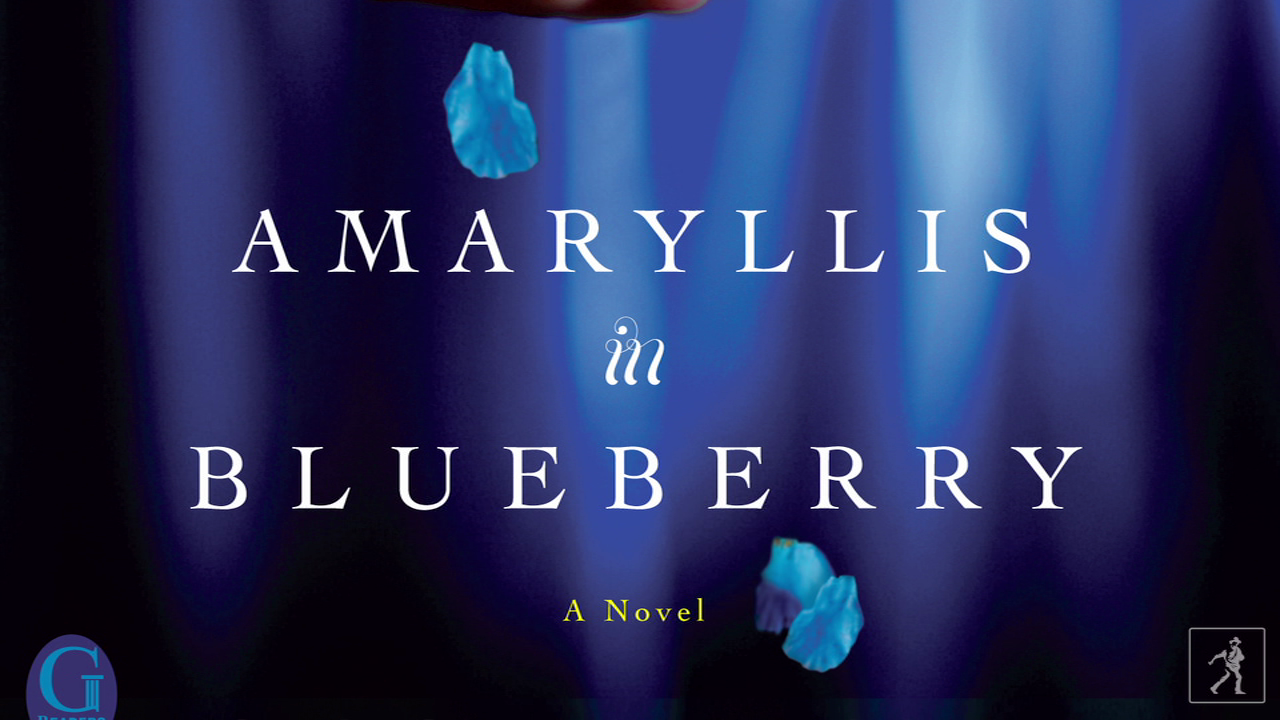 Sense the world through the heroine of AMARYLLIS IN BLUEBERRY