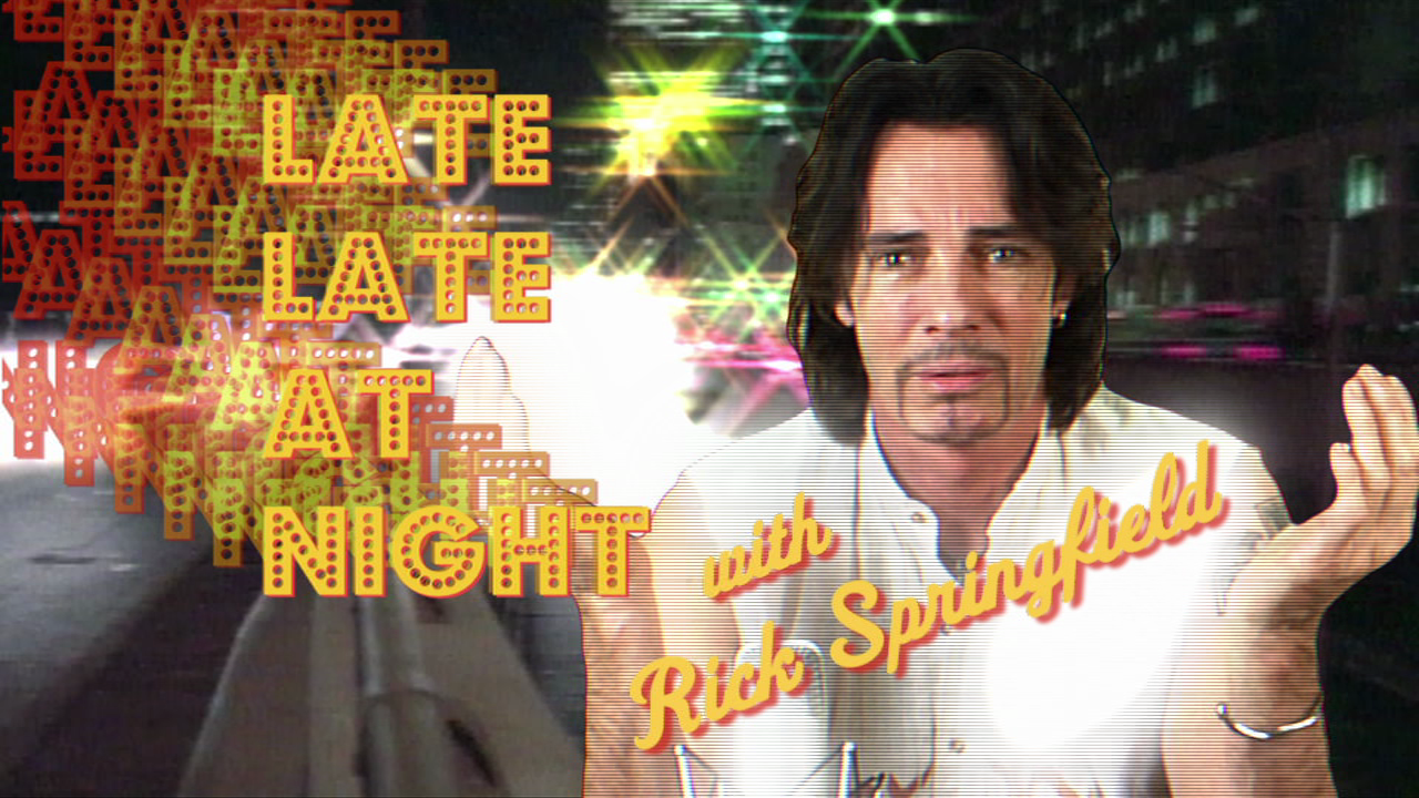 Late, Late at Night with Rick Springfield