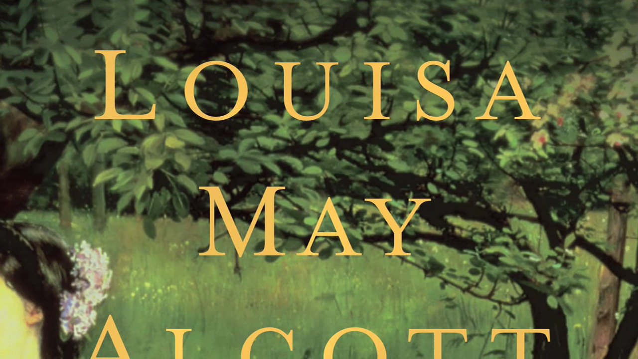 It's Louisa May Alcott as you've never seen her before!
