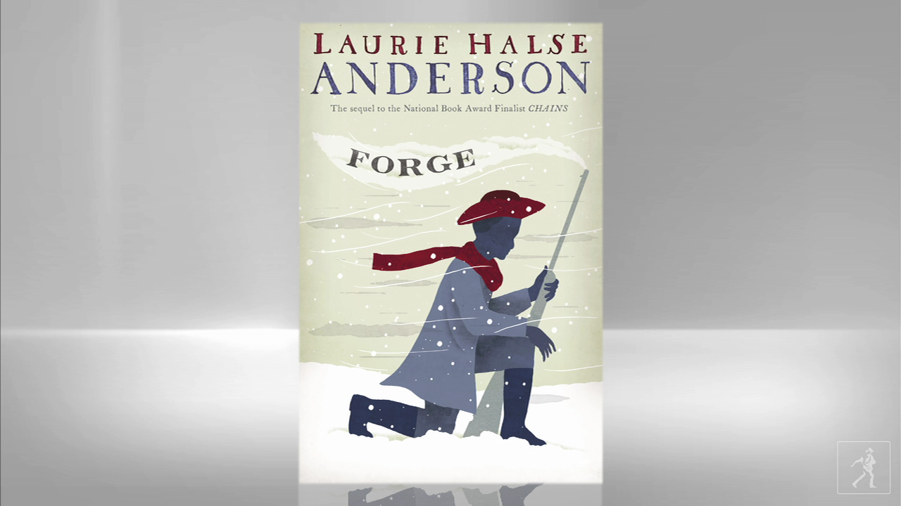 Writer Laurie Halse Anderson on her book FORGE and the inspiring American Revolution