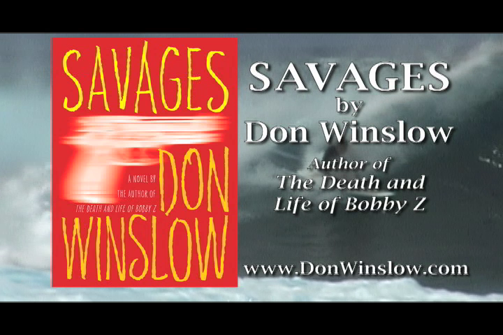 Watch the trailer for SAVAGES by Don Winslow