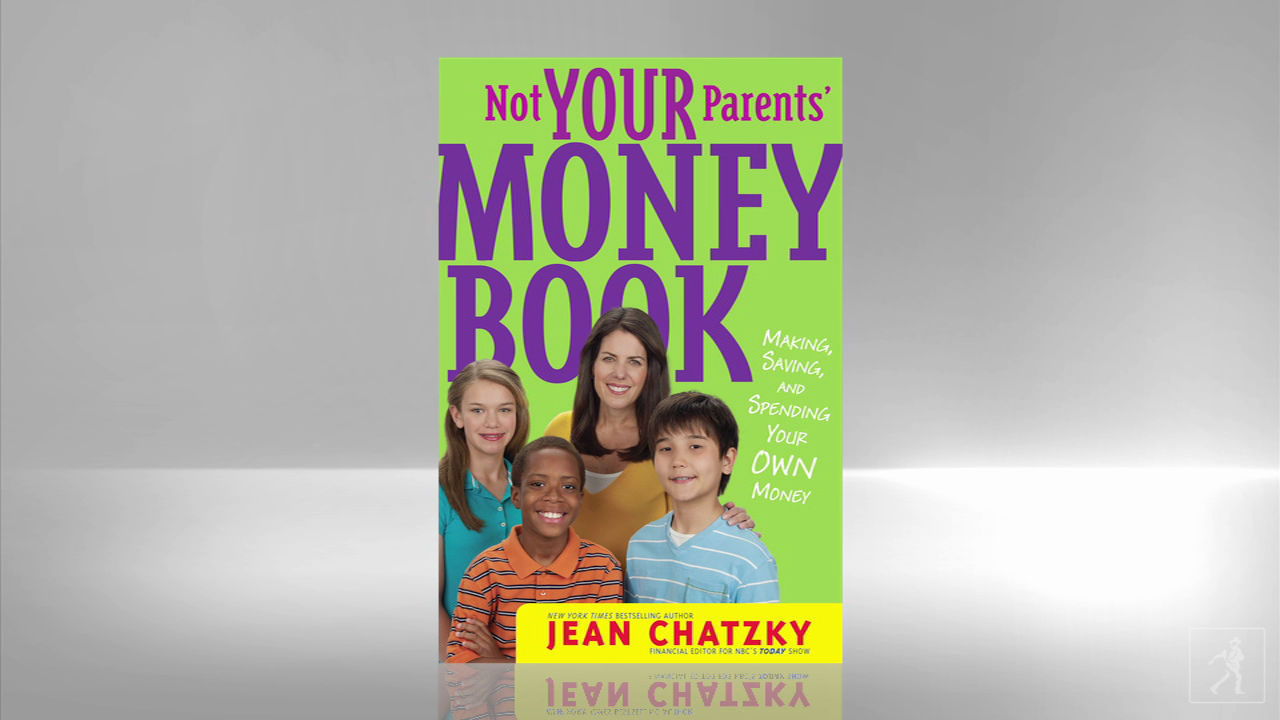 Help your kids make, spend and save money with Jean Chatzky's NOT YOUR PARENTS' MONEY BOOK