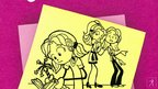 Rachel Renee Russell on DORK DIARIES #2....
