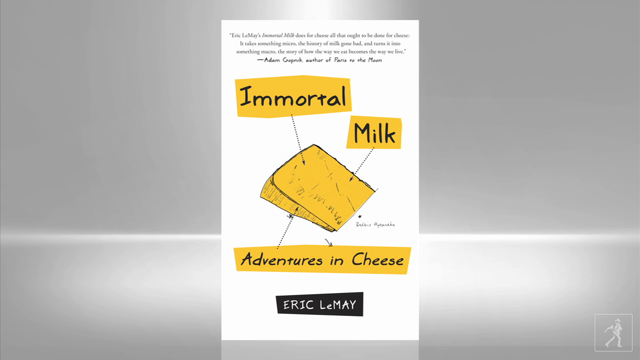 Cheese - as immortalized by Eric LeMay in IMMORTAL MILK