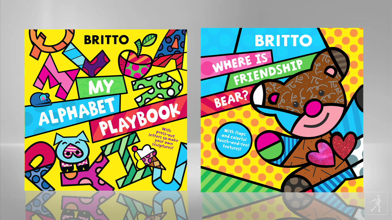 Artist Romero Britto discusses his work and his books