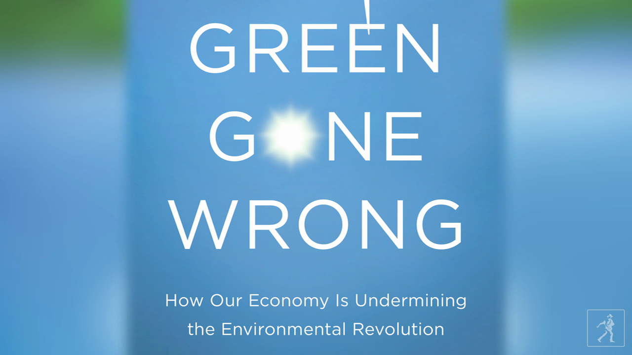 "How does our economy undermine our ""green"" efforts?"