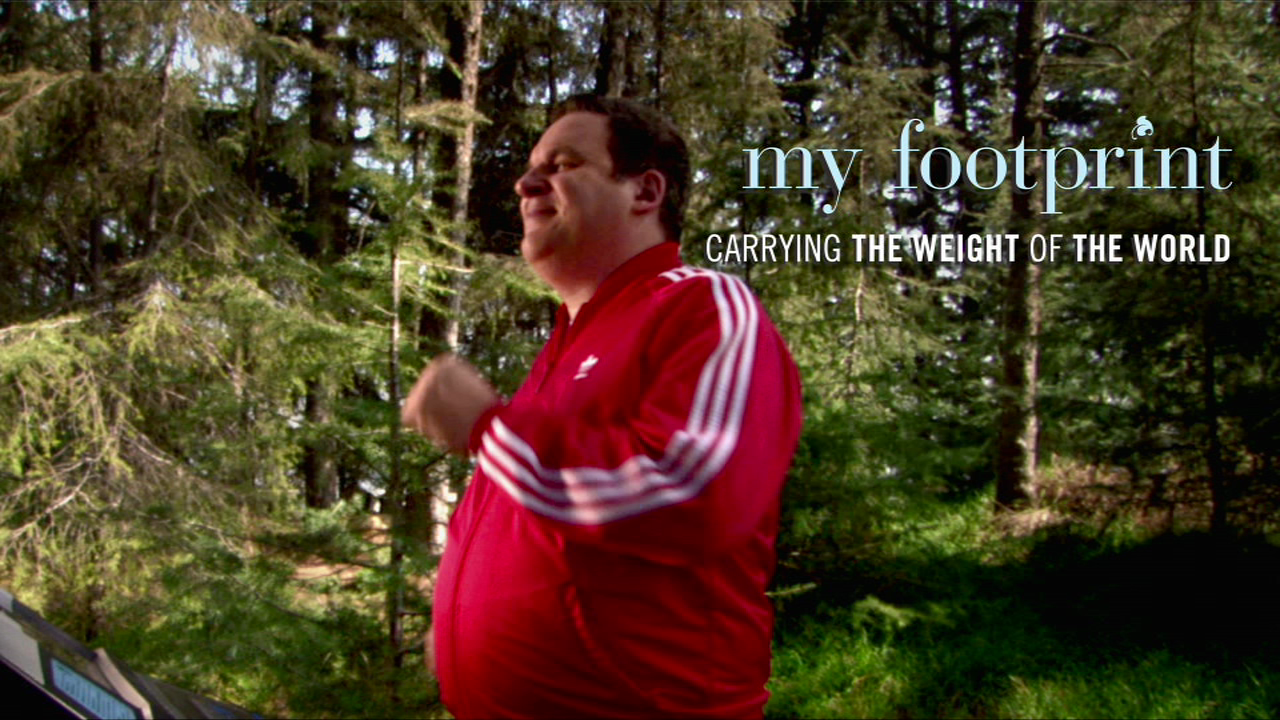 Comedian Jeff Garlin's new book MY FOOTPRINT