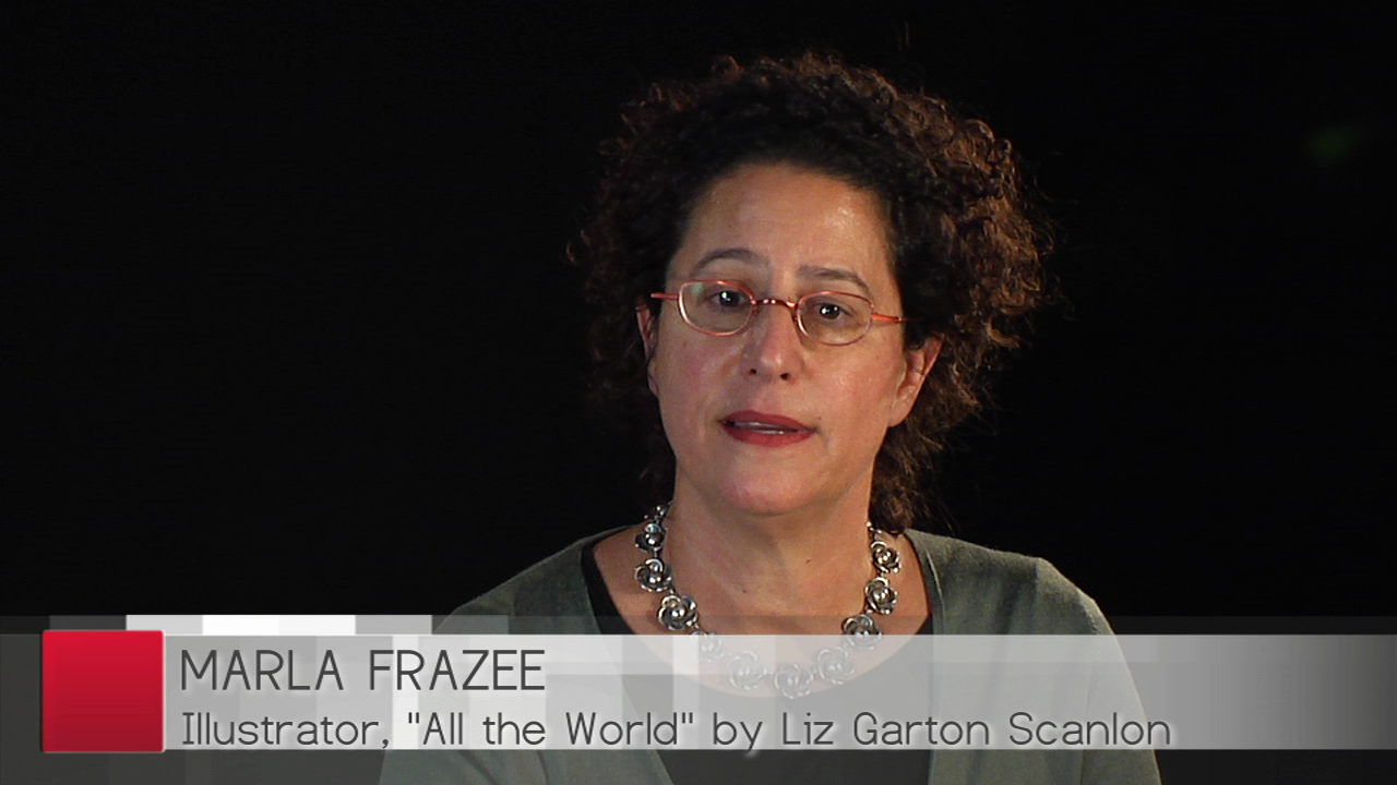 Hear Marla Frazee talk about All The World