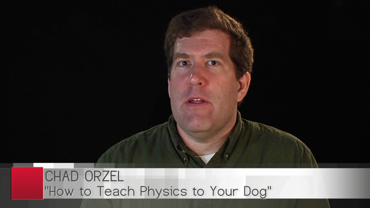Author Chad Orzel on TV and Talent