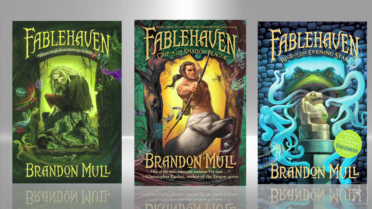 Bestselling Author Brandon Mull: Fablehaven
