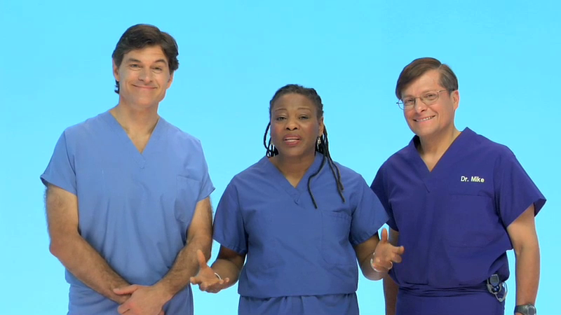 Daytime TV's Dr. Oz and co-author Dr. Roizen on pregnancy