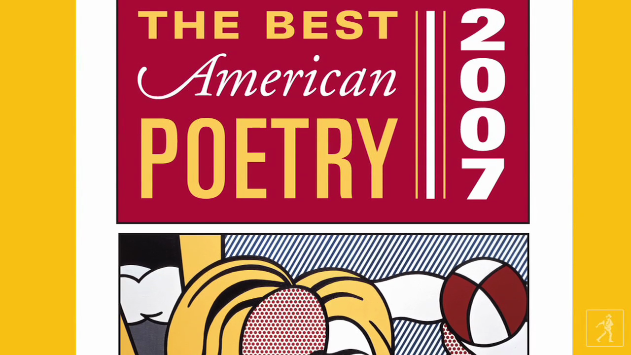 David Lehman: Best American Poetry 2009
