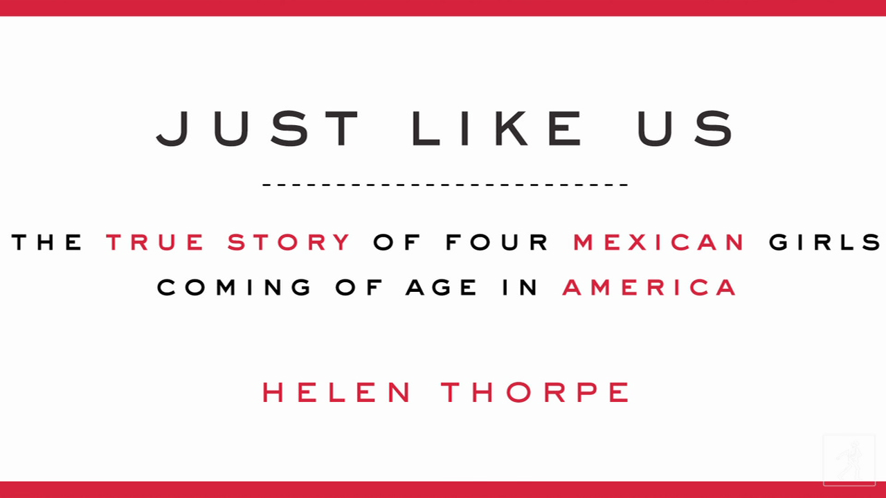 Author Helen Thorpe Discusses Her New Book Just Like Us