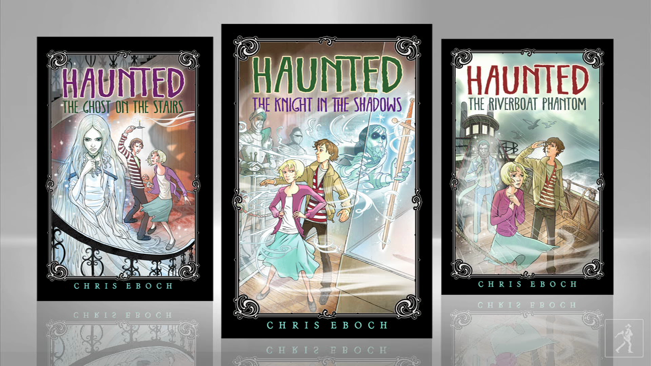 Writer Chris Eboch explains her new series, HAUNTED