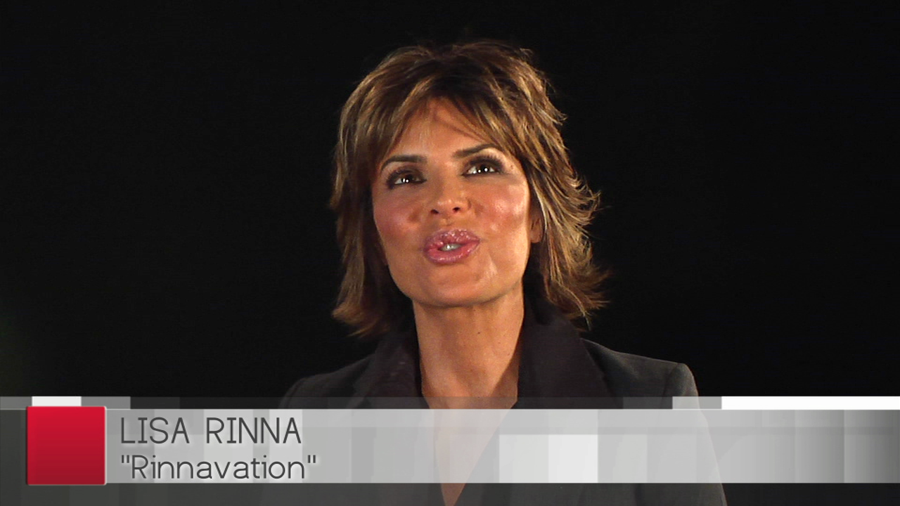 Actress Lisa Rinna Reveals Her Most Noticeable Trait