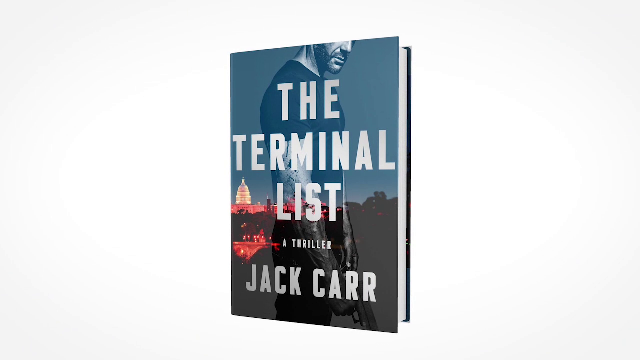 NAVY SEAL Jack Carr Inspired To Write By Librarian Mom