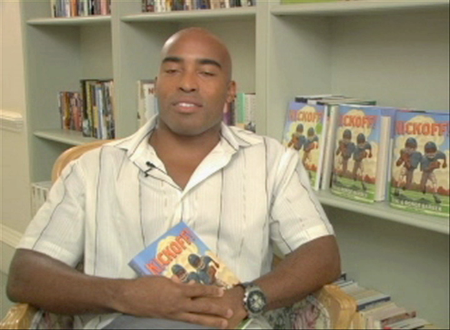 NFL Superstar Tiki Barber Discuss His Book Kickoff!