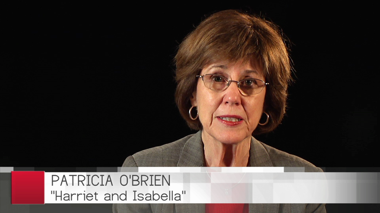 Patricia O'Brien Discusses Her Latest Novel Harriet and Isabella